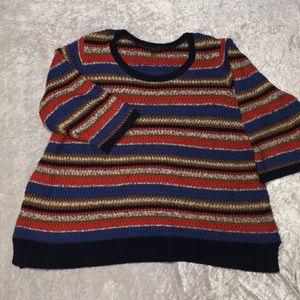 Lane Bryant Women's Sweater 3/4 Length Sleeve